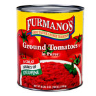 Furmano's Ground Peeled Tomatoes in Puree 6 - #10 Cans / Case