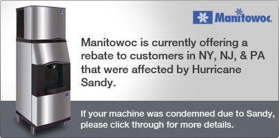 Manitowoc Hurricane Sandy Rebate