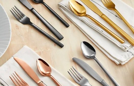 Colored Handle Flatware